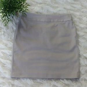 Banana Republic khaki skirt size 0 EUC